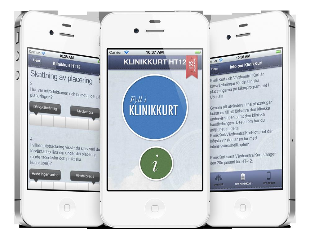 Application screenshots